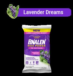 lavender wipe